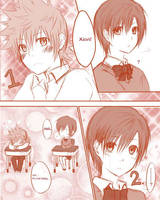 Roxas x Xion-3 seconds by yoruven