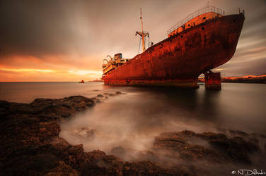 Shipwreck by Nichofsky