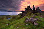 The Old Man Of Storr by Nichofsky