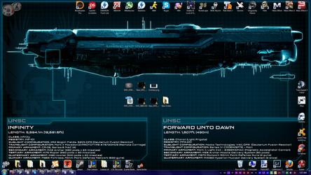 Current desktop by JaxInc
