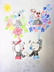 Cuphead: My Brother by girlofhearts101