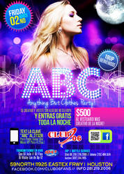 ABC Party Flyer Template by LouisTwelve-Design