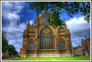East Front, Lincoln Cathedral. by TheBaldingOne