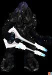 Halo 3: Thel 'Vadam- Arbiter. by OGLoc069