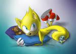 Cuddly Ray by KingofMoebius