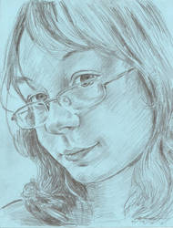 Tansy portrait by mozer1a0x