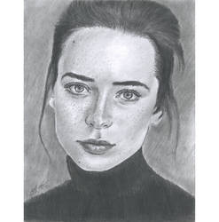 Direct gaze black turtleneck by mozer1a0x