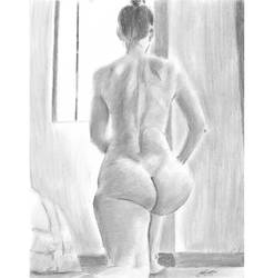 H nude yoga 03 by mozer1a0x