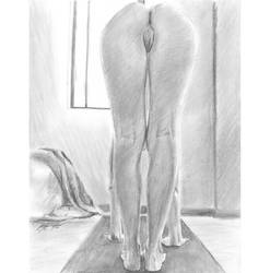 H nude yoga 04 by mozer1a0x