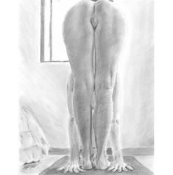 H nude yoga 05 by mozer1a0x