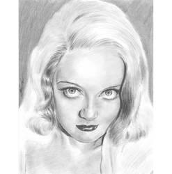 Bette Davis big eyed stare by mozer1a0x