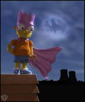 Bartman: The Dark Knight by vikung-fu