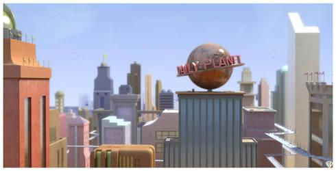 Metropolis For All Seasons by vikung-fu