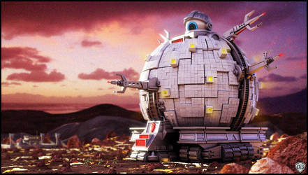 Attack The Technodrome by vikung-fu