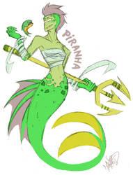 CBNS: Piranha by 123soleil