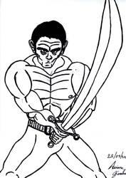 Swordman by GuerraTotale