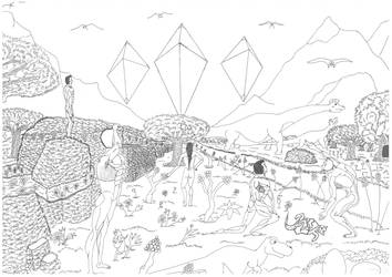 Aliens arriving in Eden (beta fase) by GuerraTotale