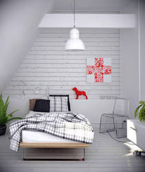 Fantastic White_ The Ceiling by pnn