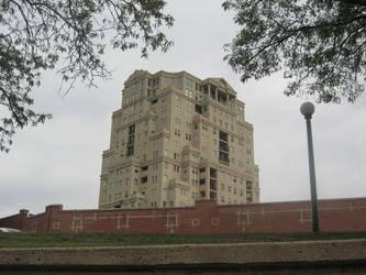 Towering building by xiapathos