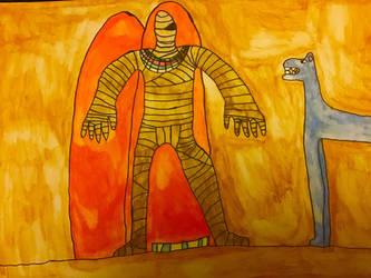 Monsters of Halloween: Mummy by DinoDragoZilla17