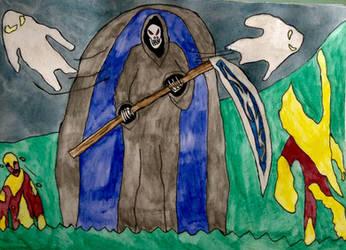 Monsters of Halloween: Undead by DinoDragoZilla17
