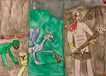 Monsters of Halloween: Miscellaneous by DinoDragoZilla17