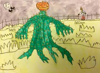 Monsters of Halloween: Jack-O-Lantern by DinoDragoZilla17