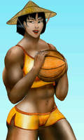 Basketball Lass by MuscleWomen-Planet