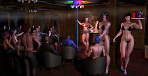 Joy's Dancing job 1of8 by MuscleWomen-Planet