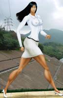 President Nguyen Hue Bich Long Ago by MuscleWomen-Planet