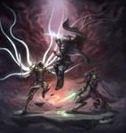 Three Heroes by Zeronis