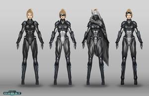 Starcraft Nova Suit Designs by Zeronis