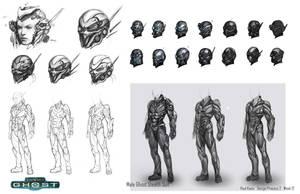 Starcraft Ghost Seth by Zeronis