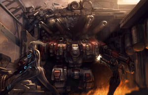 Nova Versus Thor by Zeronis