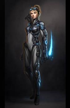 Starcraft Ghost Nova Final by Zeronis