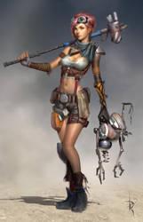 Ayla Character 1 by Zeronis