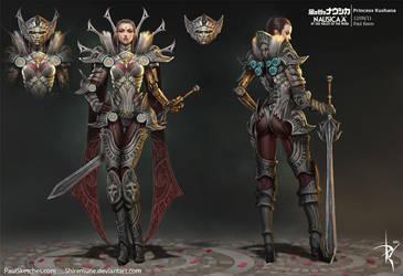Lady Kushana by Zeronis