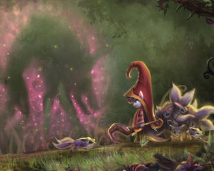 The Great Hunt Lulu by Zeronis