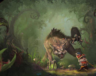 The Great Hunt Teemo by Zeronis