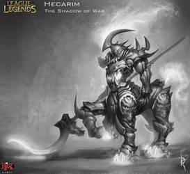 Hecarim Concept Art by Zeronis