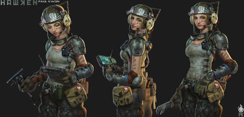Hawken Laila Mechanic by Zeronis