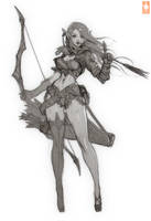 Archer Lady Sibill by Zeronis