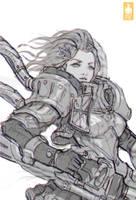 Lancer Girl PK Zeronis by Zeronis