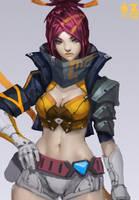 Namelss Girl Zeronis PK by Zeronis