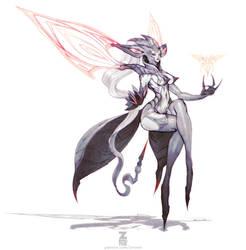 Lucila - Deathverse 01 by Zeronis