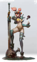 Mekanizer Alice-5 by Zeronis