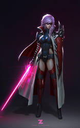 Lightning - Jedi Knight by Zeronis