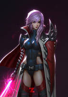 Lightning - Jedi Knight Portrait by Zeronis