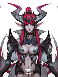 Vampire Drake - Lucilla 05 by Zeronis