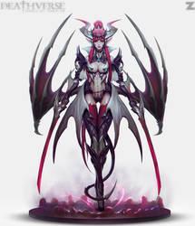 Vampiric Drake - Deathverse by Zeronis